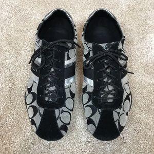 Coach Sneakers EUC Size 9